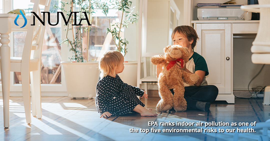 EPA Ranks indoor air pollution as environmental risk to health